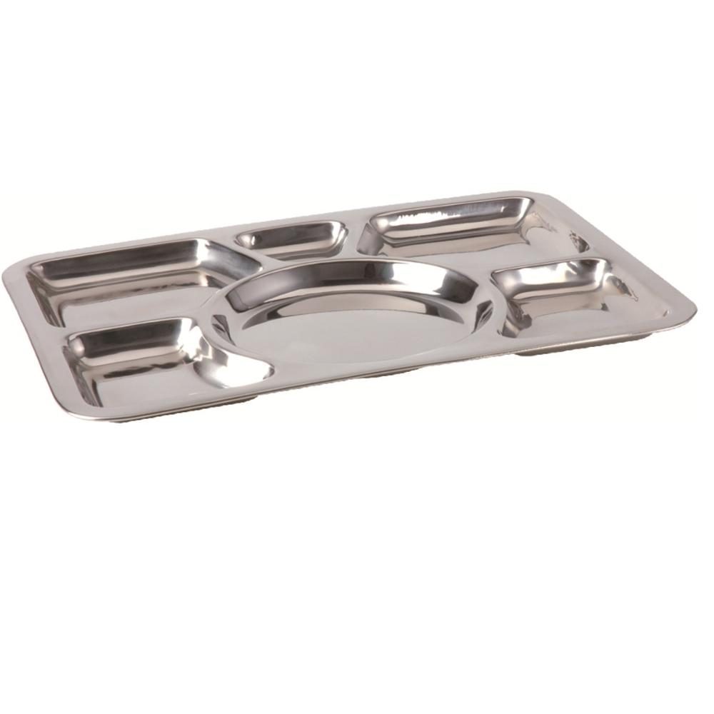 Stainless Steel Militer Aula Tray