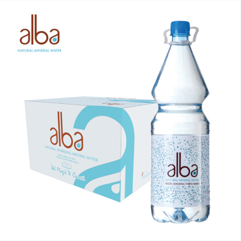 alba Natural Mineral Water Premium Quality in Bulk OEM Water in Plastic Bottle for Wholesale 1500ml*12