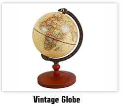 2016 Hot Selling Promotional Antique Decorative World Globe